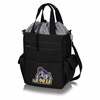 Picnic Time Activo Cooler Tote  James Madison University Black w/ Grey