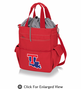 Picnic Time Activo Cooler Tote  Louisiana Tech Bulldogs Red
