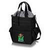 Picnic Time Activo Cooler Tote  Marshall University Black w/ Grey