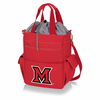 Picnic Time Activo Cooler Tote  Miami University Red