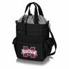 Picnic Time Activo Cooler Tote  Mississippi State Bulldogs Black w/ Grey
