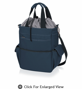 Picnic Time Activo Cooler Tote Navy Blue