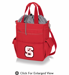 Picnic Time Activo Cooler Tote  NC State Wolfpack Red