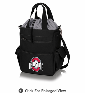 Picnic Time Activo Cooler Tote  Ohio State Buckeyes Black w/ Grey