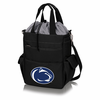 Picnic Time Activo Cooler Tote  Penn State Nittany Lions Black w/ Grey