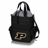 Picnic Time Activo Cooler Tote  Purdue University Boilermakers Black w/ Grey