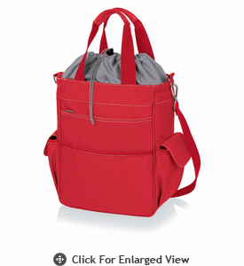 Picnic Time Activo Cooler Tote Red