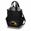 Picnic Time Activo Cooler Tote  Southern Mississippi Black w/ Grey