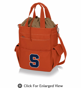 Picnic Time Activo Cooler Tote  Syracuse University Orange Orange