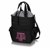 Picnic Time Activo Cooler Tote  Texas A & M Aggies Black w/ Grey
