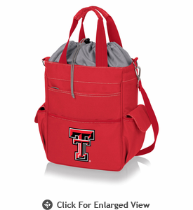 Picnic Time Activo Cooler Tote  Texas Tech Red Raiders Red