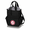Picnic Time Activo Cooler Tote  University of Alabama Crimson Tide Black w/ Grey