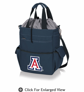 Picnic Time Activo Cooler Tote  University of Arizona Wildcats Navy Blue