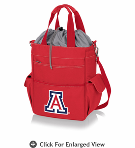 Picnic Time Activo Cooler Tote  University of Arizona Wildcats Red