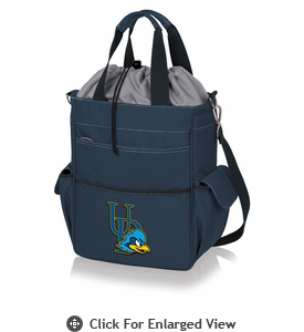 Picnic Time Activo Cooler Tote University of Delaware Blue Hens Navy Blue