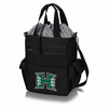 Picnic Time Activo Cooler Tote  University of Hawaii Warriors Black w/ Grey
