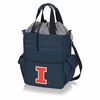 Picnic Time Activo Cooler Tote  University of Illinois Fighting Illini Navy Blue