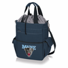 Picnic Time Activo Cooler Tote  University of Maine Black Bears Navy Blue