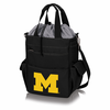 Picnic Time Activo Cooler Tote  University of Michigan Black w/ Grey