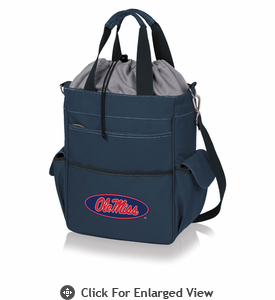 Picnic Time Activo Cooler Tote  University of Mississippi Rebels Navy Blue