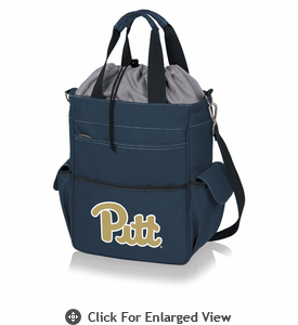 Picnic Time Activo Cooler Tote  University of Pittsburgh Panthers Navy Blue