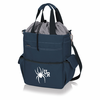 Picnic Time Activo Cooler Tote  University of Richmond Spiders Navy Blue