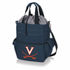 Picnic Time Activo Cooler Tote  University of Virginia Cavaliers Navy Blue