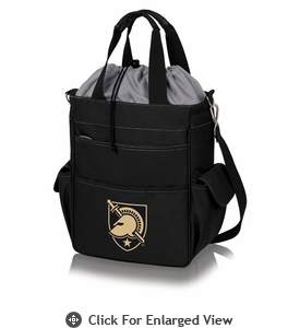 Picnic Time Activo Cooler Tote  US Military Academy Army Black Knights Black w/ Grey