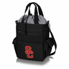 Picnic Time Activo Cooler Tote  USC Trojans Black w/ Grey