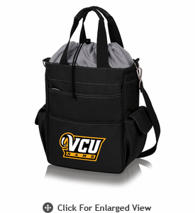 Picnic Time Activo Cooler Tote  Virginia Commonwealth Rams Black w/ Grey
