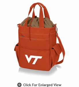 Picnic Time Activo Cooler Tote  Virginia Tech Hokies Orange