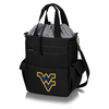 Picnic Time Activo Cooler Tote  West Virginia University Black w/ Grey