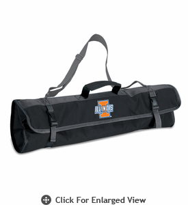 Picnic Time BBQ Tote University of Illinois Fighting Illini