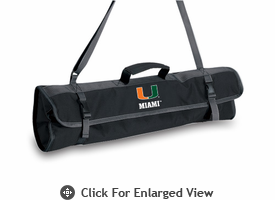 Picnic Time BBQ Tote University of Miami Hurricanes