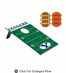 Picnic Time Bean Bag Throw-Football BYU Cougars