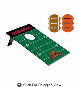 Picnic Time Bean Bag Throw-Football Cornell University Bears