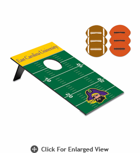 Picnic Time Bean Bag Throw-Football East Carolina Pirates