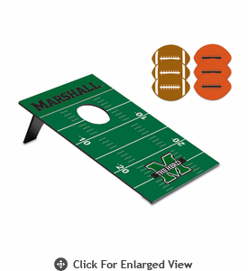 Picnic Time Bean Bag Throw-Football Marshall University Thundering Herd
