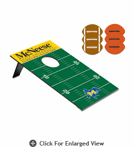 Picnic Time Bean Bag Throw-Football McNeese State Cowboys
