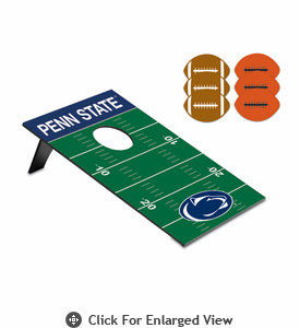 Picnic Time Bean Bag Throw-Football Penn State Nittany Lions