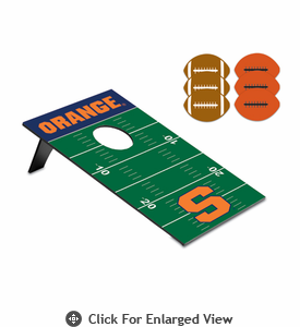 Picnic Time Bean Bag Throw-Football Syracuse University Orange