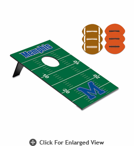 Picnic Time Bean Bag Throw-Football University of Memphis Tigers
