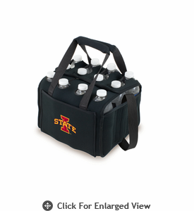 Picnic Time Beverage Buddy 12 Pack - Black Iowa State Cyclones