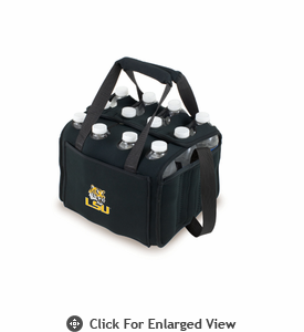 Picnic Time Beverage Buddy 12 Pack - Black Louisiana State University Tigers