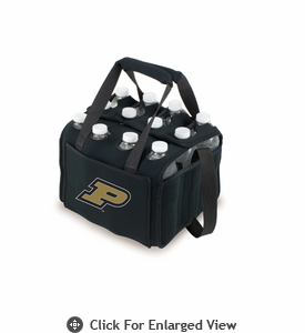 Picnic Time Beverage Buddy 12 Pack - Black Purdue University Boilermakers