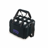 Picnic Time Beverage Buddy 12 Pack - Black Texas Christian University Horned Frogs