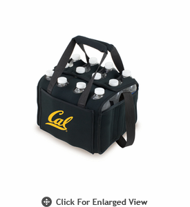 Picnic Time Beverage Buddy 12 Pack - Black UC Berkeley Golden Bears