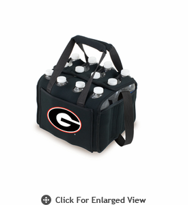 Picnic Time Beverage Buddy 12 Pack - Black University of Georgia Bulldogs