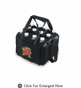 Picnic Time Beverage Buddy 12 Pack - Black University of Maryland Terrapins