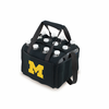 Picnic Time Beverage Buddy 12 Pack - Black University of Michigan Wolverines
